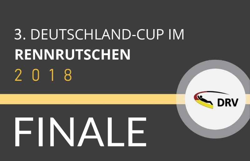 3. Deutschland-Cup im Rennrutschen - Finale