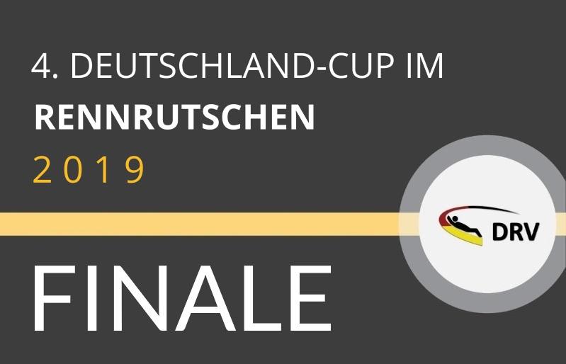 4. Deutschland-Cup im Rennrutschen - Finale